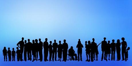Inclusão e Equidade em Comunicação de Ciência bilhetes