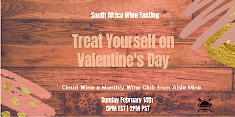 Cloud Wine - Treat Yourself on Valentine's Day - South Africa Tasting tickets
