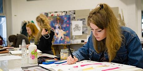 University level Art & Design Online 1-1 Information Sessions tickets