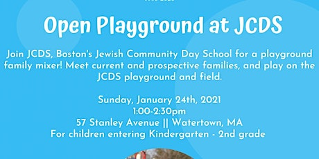 Open Playground at JCDS tickets