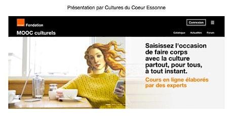 """Sensibilisation aux """"Guides Cultures"""" d'Orange à destination des adhérents billets"""