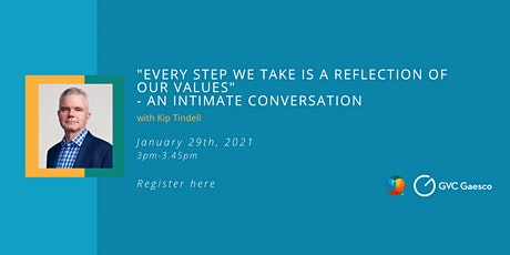 "Talk with Kip Tindell: ""Every step we take is a reflection of our values"" tickets"