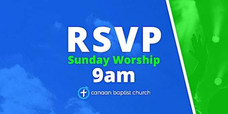 January 17, 9am Worship Service tickets