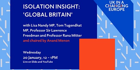 Isolation Insight: 'Global Britain' tickets