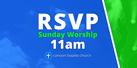 January 17, 11am Worship Service tickets