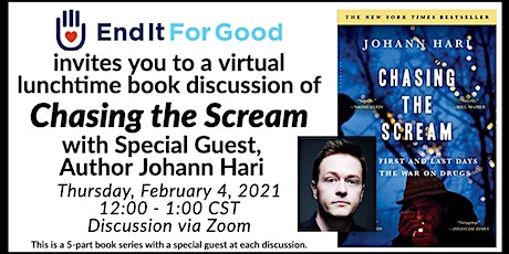 Chasing the Scream 5-Part Book Discussion - with Special Guest Johann Hari tickets