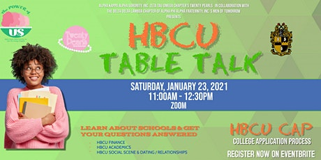 HBCU Table Talk tickets
