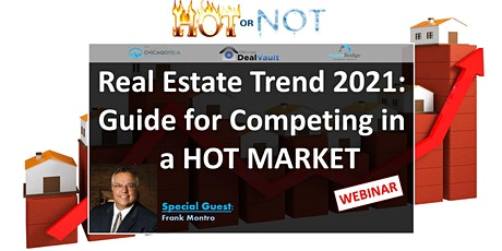 WEBINAR: Real Estate Trend 2021: Guide for Competing in a Hot Market tickets