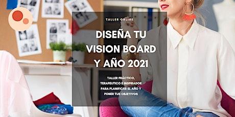 DISEÑA TU VISION BOARD Y AÑO 2021 entradas