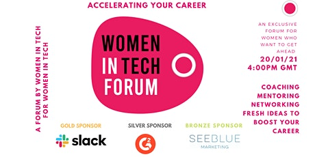 Accelerating Your Career in Tech tickets