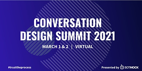 Conversation Design Summit 2021 tickets