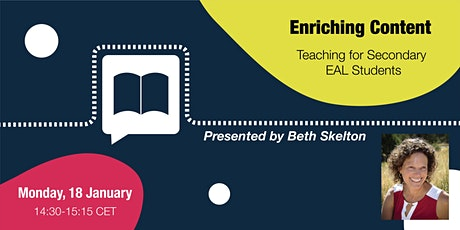 Enriching Content Teaching for Secondary EAL Students tickets