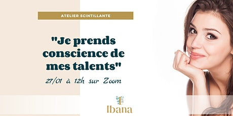 Atelier coaching : Je prends conscience de mes talents billets