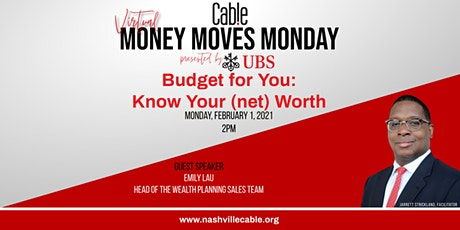 My Money Moves Monday: Know Your (net)Worth tickets