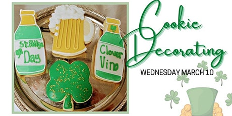 St. Patty's Day Cookie Decorating Class tickets