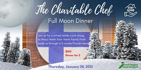 Charitable Chef - Full Moon Dinner tickets