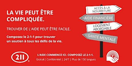 Copy of 211 : Qu'est-ce que c'est? - Grand public tickets