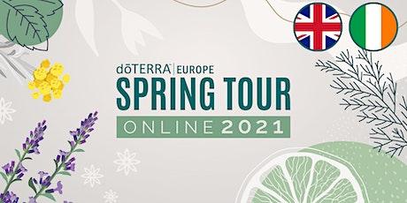 dōTERRA Spring Tour Online 2021 - Product Special - UK & Ireland tickets