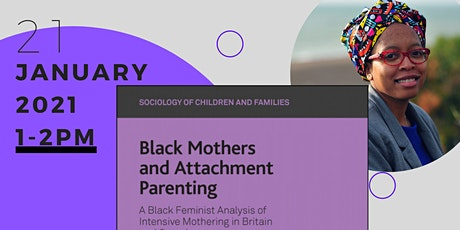 Black Mothers and Attachment Parenting book launch tickets