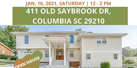 Open House at 411 Old Saybrooks Dr. Columbia SC 29210, 8 Bedrooms tickets
