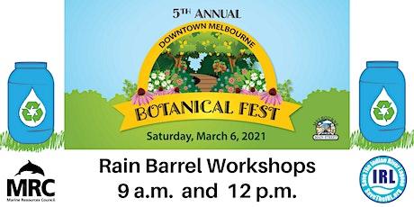 Downtown Melbourne Botanical Fest Rain Barrel Workshops tickets