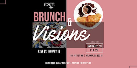 Brunch & Visions tickets