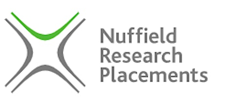 Nuffield Research Placement tickets