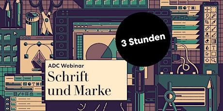 "ADC Teaser Seminar ""Schrift & Marke"" Tickets"