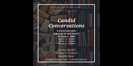 Candid Conversations 1-16-2021 tickets