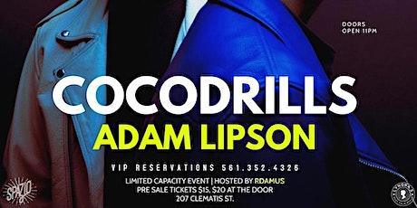 Take Me To Spazio: Cocodrills + Adam Lipson tickets