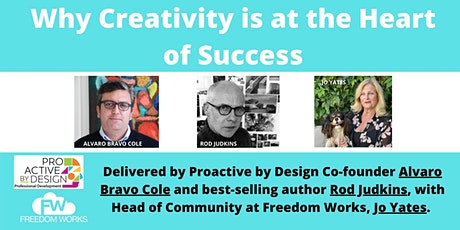 Why Creativity is at the Heart of Success tickets