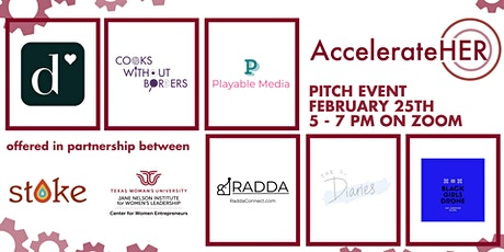 AccelerateHER Pitch Event tickets