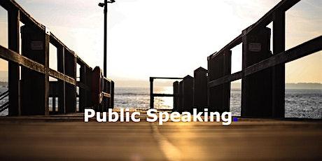 Public Speaking tickets