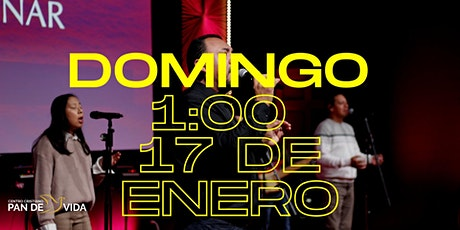 Servicio Domingo 17 de Enero tickets