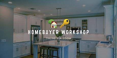New Homebuyer Workshop Zoom tickets