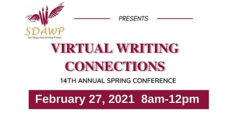SDAWP's Virtual Writing Connections Spring Conference 2021 tickets