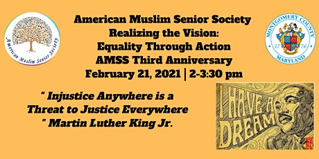 Realizing the Vision: Equality Through Action (AMSS Third Anniversary) tickets