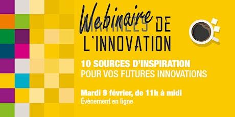 10 sources d'inspiration pour vos futures innovations billets