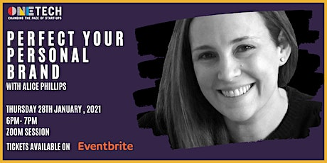 Perfect Your Personal Branding with Alice Phillips tickets