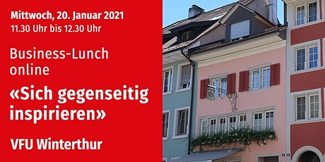 Business-Lunch online, Winterthur, 20.01.2021 Tickets
