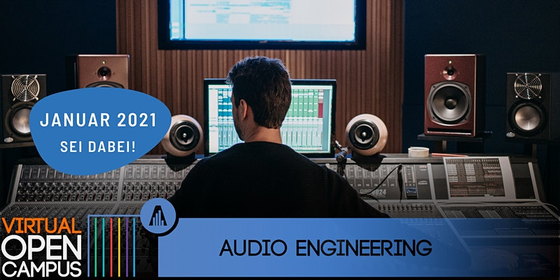 OPEN CAMPUS #Music - Audio Engineering 2021
