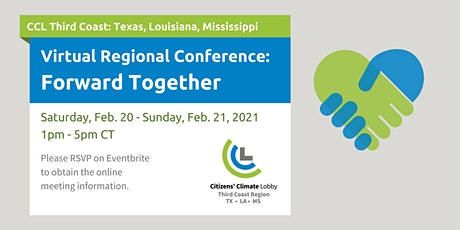 2021 CCL 3rd Coast Virtual Regional Conference: Forward Together tickets