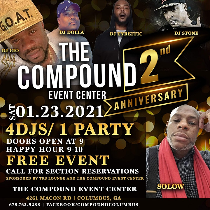 The Compound Event Center 2 year Anniversary Show image