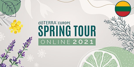 dōTERRA Spring Tour Online 2021 – Lithuania - Business tickets