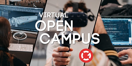 Virtual Open Campus Week: #Game Art & 3D Animation #Games Programming Tickets