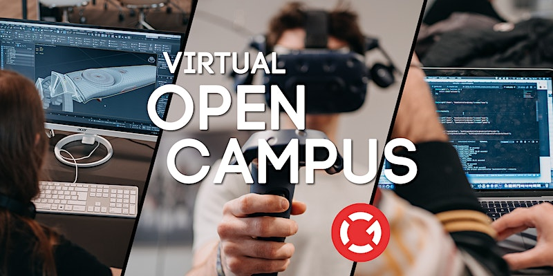Virtual Open Campus Week: #Game Art & 3D Animation #Games Programming