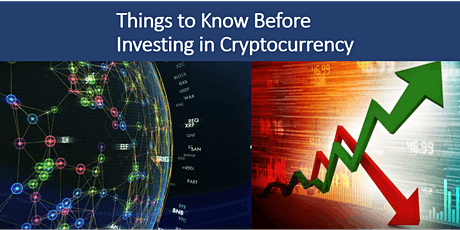 Things to Know Before Investing in Cryptocurrency tickets