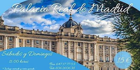 VISITA GUIADA al PALACIO REAL y TAPICES DE RAFAEL con Guia Oficial entradas
