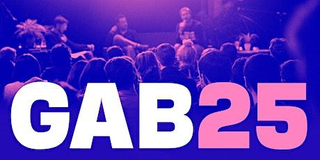 Gab #25 - A get together for creative folk tickets