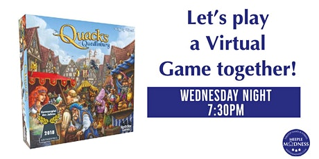 Meeple Madness Virtual Board Game Night! tickets